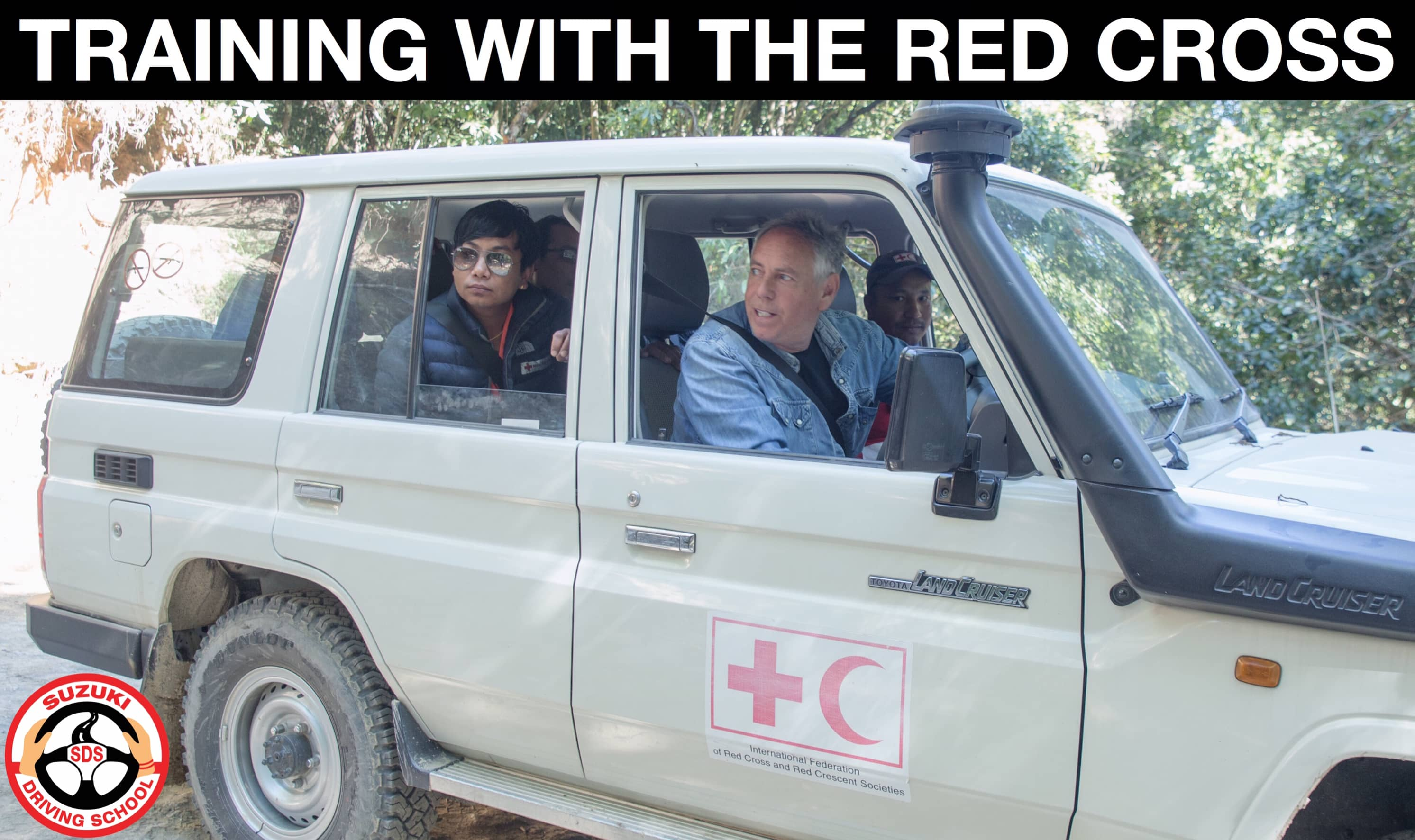 TRAINING WITH THE RED CROSS
