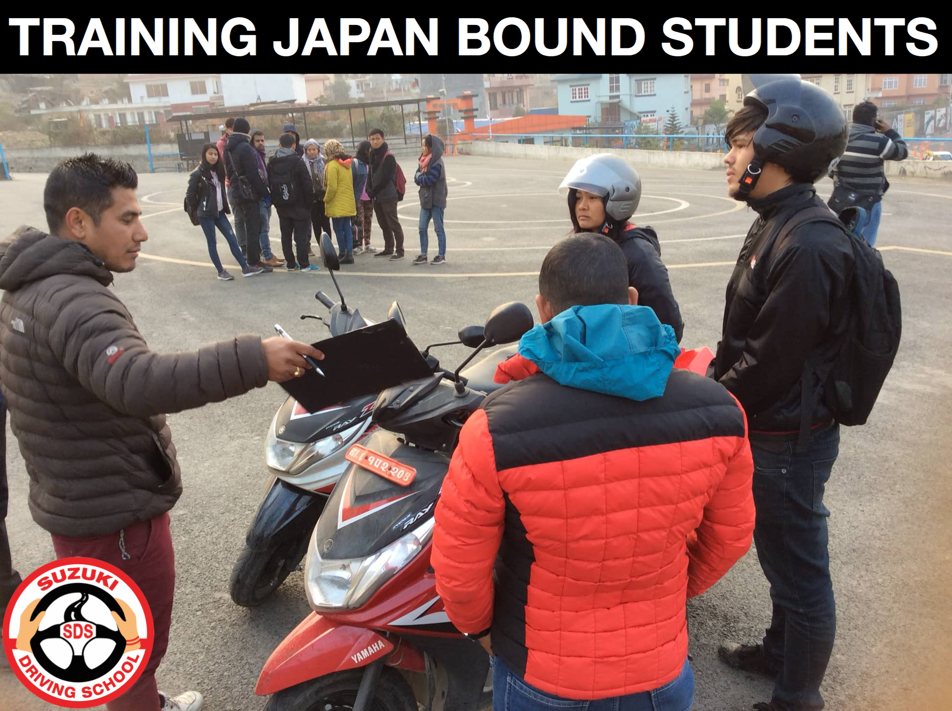 TRAINING JAPAN BOUND STUDENTS