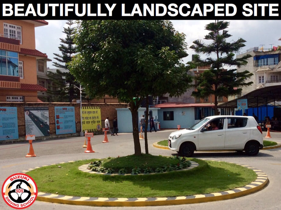 BEAUTIFULLY LANDSCAPED SITE