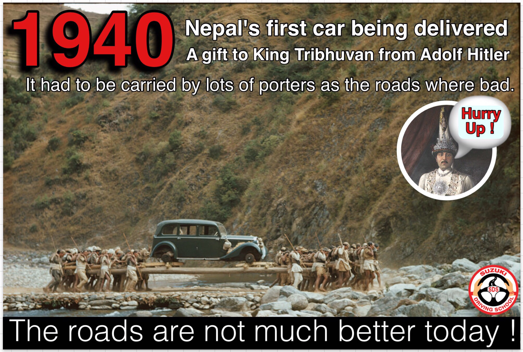 NEPAL'S FIRST CAR