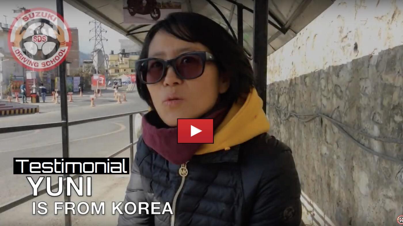 Yuni's Testimonial