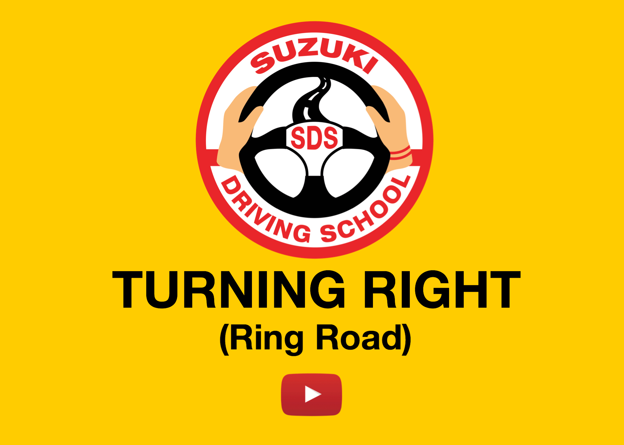 TURNING RIGHT (ring road)