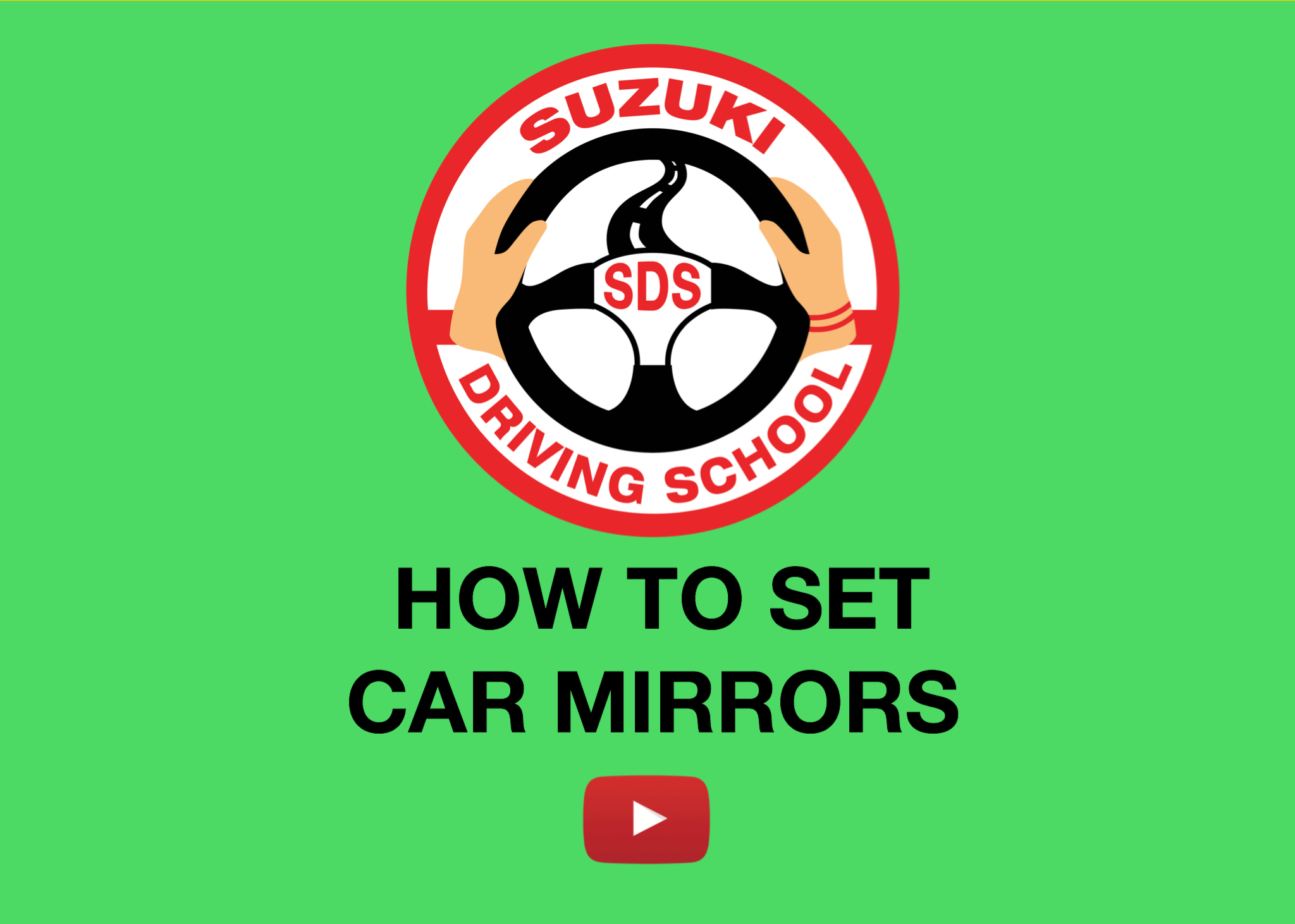 HOW TO SET CAR MIRRORS
